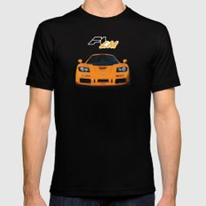 1995 McLaren F1 LM  SMALL Mens Fitted Tee Black
