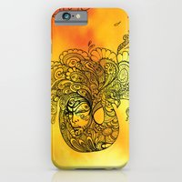 PEACOCKS CAN FLY iPhone 6 Slim Case
