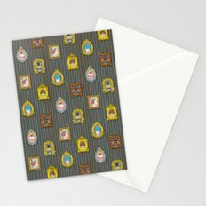 Classy Muffins Pattern Stationery Cards