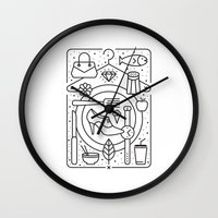 Food and Fashion Wall Clock