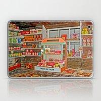 The Old Corner Shop. Laptop & iPad Skin
