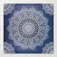 INDIGO DREAMS Canvas Print