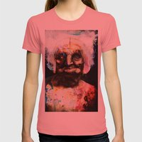Old Paint Womens Fitted Tee Pomegranate SMALL