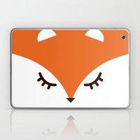 Fox minimal Laptop & iPad Skin