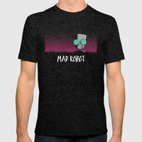 Mad Robot Mens Fitted Tee Tri-Black SMALL