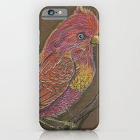 iPhone & iPod Case featuring Vivid Bird by fluffco
