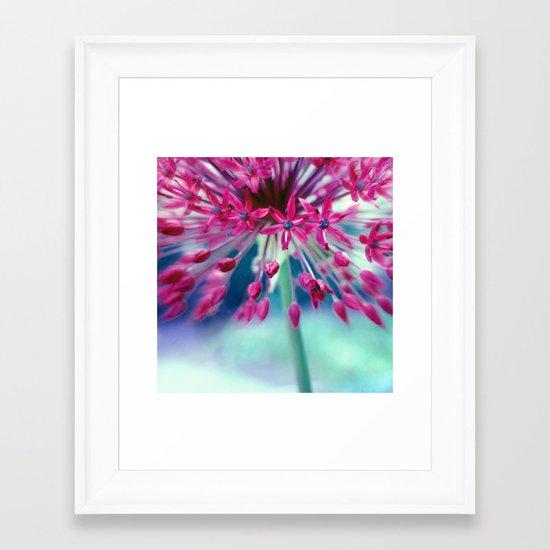 give power Framed Art Print