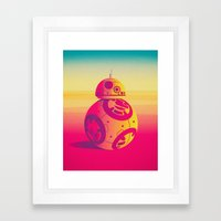 Droid Framed Art Print