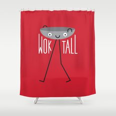 A Stirring Exhortation Shower Curtain