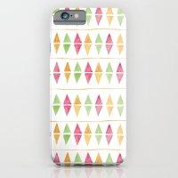 Watercolor Argyle iPhone 6 Slim Case