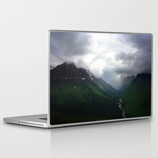 Mystic Mountains Laptop & iPad Skin