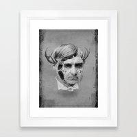 The Melting Man Framed Art Print