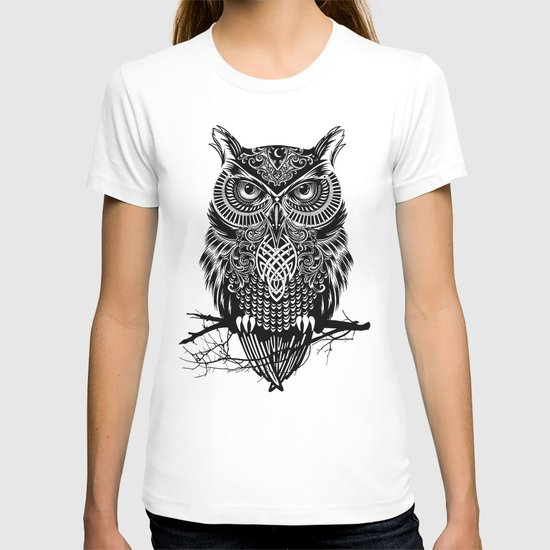 Warrior Owl 2 T-shirt