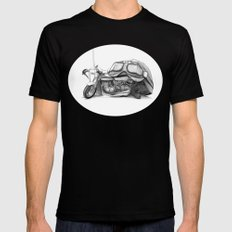 Cafe Racer II Mens Fitted Tee Black SMALL