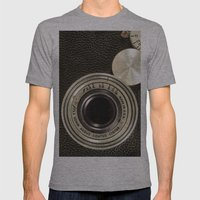 Vintage Argus Camera Mens Fitted Tee Athletic Grey SMALL