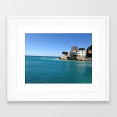 Cassis Framed Art Print