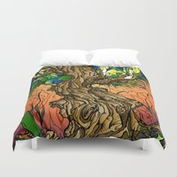 Maple Syrup Duvet Cover