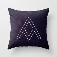 Galaxy A Throw Pillow