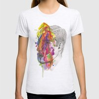 Breathe In Colour Womens Fitted Tee Ash Grey SMALL