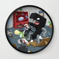 Bad Comma Wall Clock