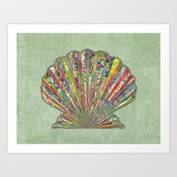 Sea Shell Art Print