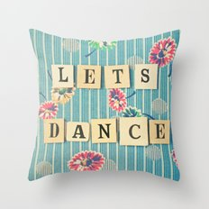 Let's Dance Throw Pillow