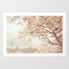 Cherry Tree Garden Art Print
