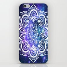 Mandala: Violet & Teal Galaxy iPhone & iPod Skin