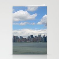 View from Lady Liberty Stationery Cards