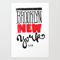 Brooklyn New York Art Print
