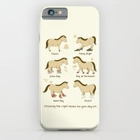 Horse Shoes iPhone 6 Slim Case