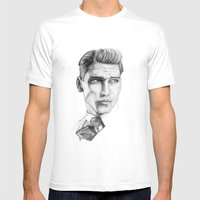 Man Mens Fitted Tee White SMALL