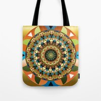 Navajo Mandala Tote Bag