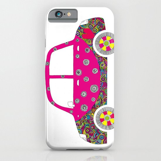 Colorful car iPhone & iPod Case