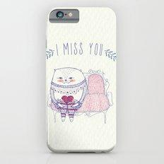 waiting cat iPhone 6 Slim Case