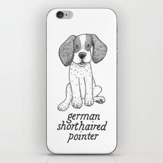 Dog Breeds: German Shorthaired Pointer iPhone & iPod Skin