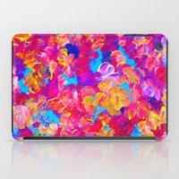 FLORAL FANTASY Bold Abst… iPad Case