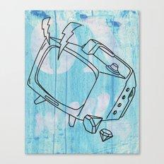 Onwards...... Canvas Print