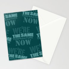 We are the same Temp Stationery Cards