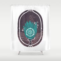 Pulsatilla Patens Shower Curtain