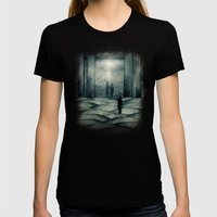 Stalker Womens Fitted Tee Black SMALL