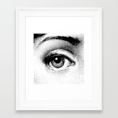 Fornasetti Left Eye Framed Art Print