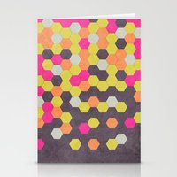 Honeycomb | Abyss Stationery Cards
