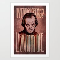 Light of my Life // The Shining Art Print