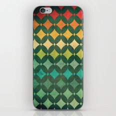 Vintage Rainbow Pattern iPhone & iPod Skin