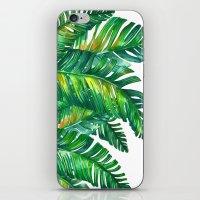 tropical green 2 iPhone & iPod Skin