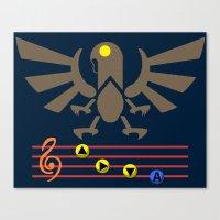 Bioshock Infinite: Song of the Songbird Canvas Print