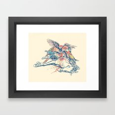 Vultures Framed Art Print