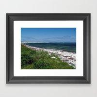 Scuthvie Bay Framed Art Print