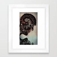 Because she said so Framed Art Print